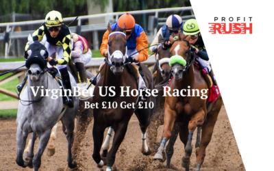 VirginBet – Bet £10 Get £10 on US Racing