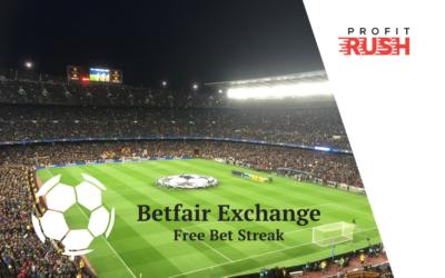 Betfair Exchange Free Bet Streak (12th to 18th October)
