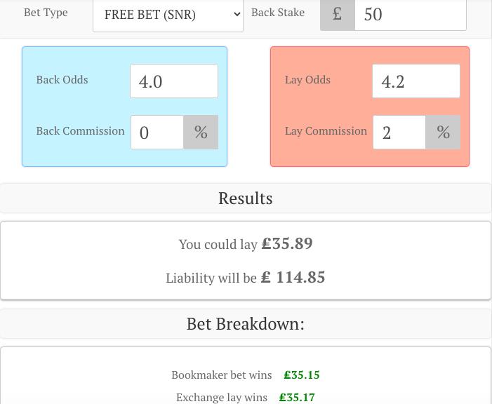 PSG Matched Betting